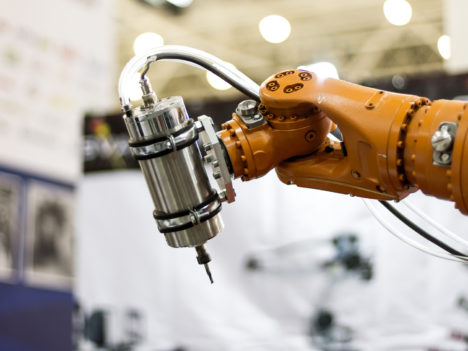 Automatic robot hand for  welding heavy industry